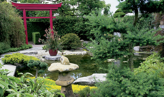 El jard n japon s for Jardin japones